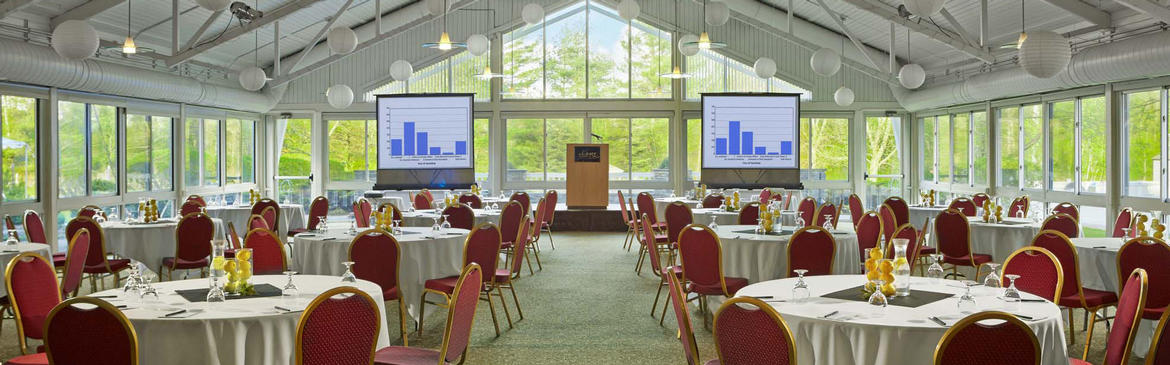 large meeting venue