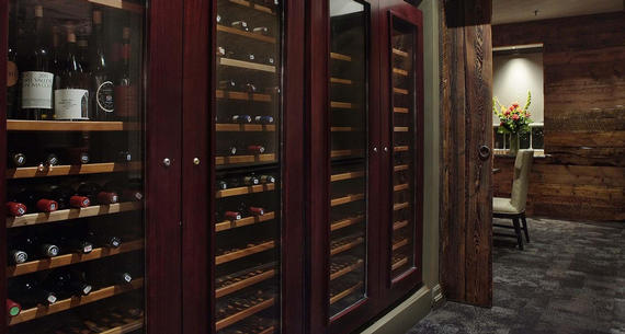 Junction's extensive wine selection