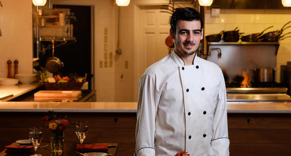 Dante Trisciuzzi, Chef Instructor