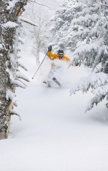 Smugglers' Notch skiing